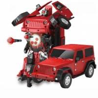 фото Радиоуправляемый робот трансформер Jeep Rubicon Red 1:14 - 2329PF